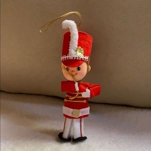 "5"" marching band soldier Christmas tree ornament"